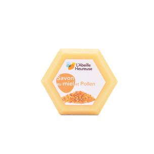 Savon au miel et pollen
