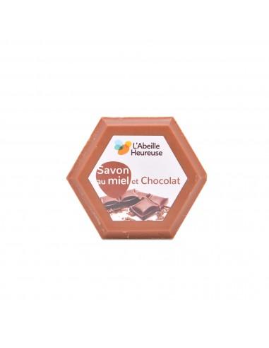 Savon au miel et chocolat