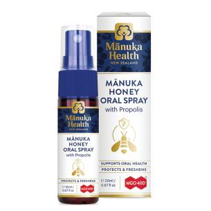 Spray buccal au miel de Manuka MGO™ 400+ et Propolis Bio30™