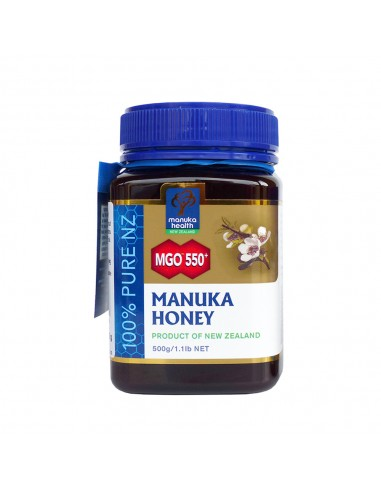 Miel de Manuka MGO™ 550+