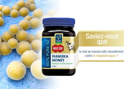 Le miel de Manuka - traitement naturel